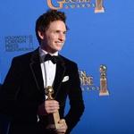 Eddie Redmayne je bil nagrajen najboljšo glavno moško dramsko vlogo. (foto: Profimedia)