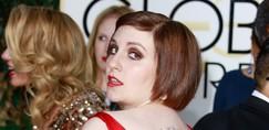Lena Dunham brez sramu pokazala, kaj je nosila pod rdečo obleko