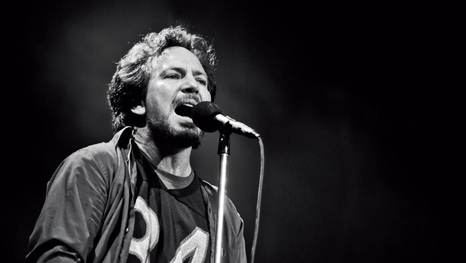 Eddie Vedder: Ob rojstvu hčerke je občutil bes (foto: Splash News, Getty Images)