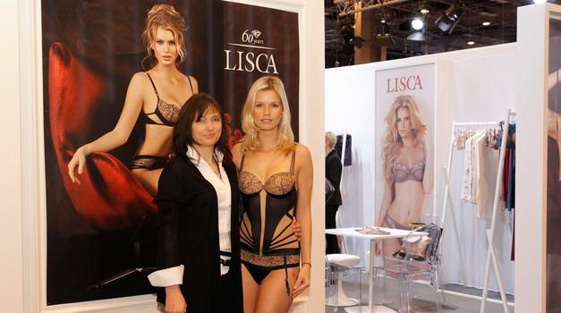 Lisca blestela med nosilci trendov v Parizu (foto: Lisca)