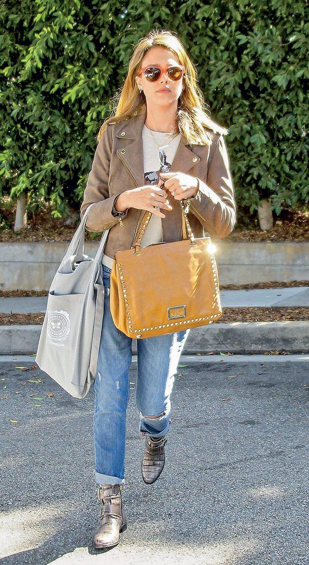 Ujemi stil Jessice Alba (foto: Profimedia)