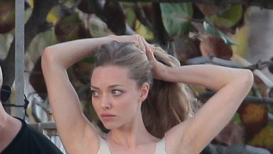 Paparac na delu: Amanda Seyfried ujeta v Miamiju!  (foto: Profimedia)