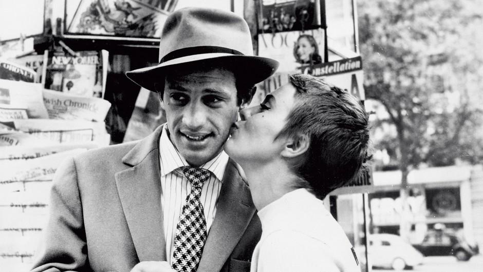 Sloviti Francoz je  filmski svet navdušil  leta 1960, ko je  zablestel v filmu Do zadnjega diha. (foto: Profimedia)