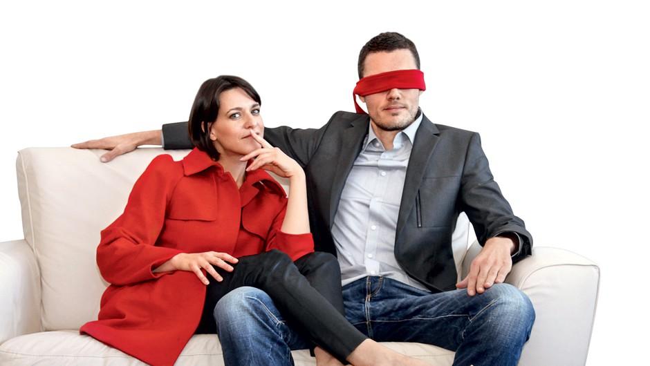 Miha in Tina o grdih prsih, bolečih seksualnih praksah in prijateljski simpatiji (foto: Helena Kermelj)
