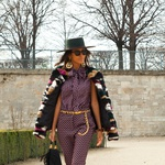 Ekskluzivno iz Pariza: ulični stil v času tedna mode (foto: Žiga Domadenik)