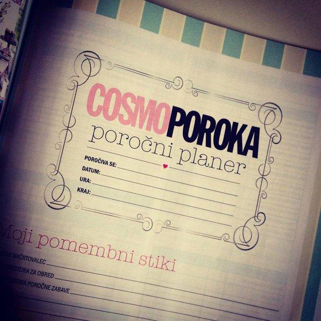 Pravi poročni planer (pripravljen, da si ga natisneš na svojem tiskalniku) (foto: Arhiv Cosmopolitan Slovenija)