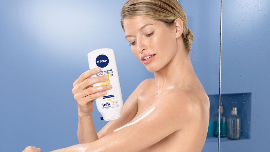 Podarjamo Nivea In-Shower Q10 učvrstitveni losjon za telo (foto: promocijsko gradivo)