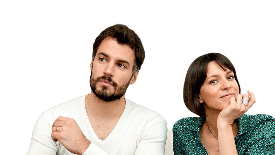 David in Tina o seksualni (ne)izživetosti in partnerjevi izgubi zanimanja (foto: Helena Kermelj)