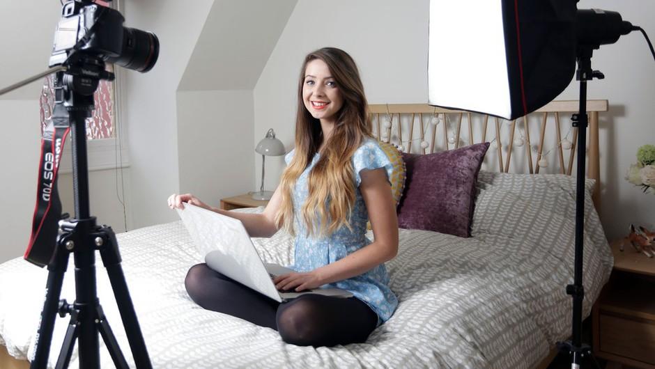 Zoe Sugg, lepotna blogerka iz Brightona (foto: profimedia)