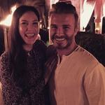 David Beckham v družbi Liv Tyler (foto: Instagram)