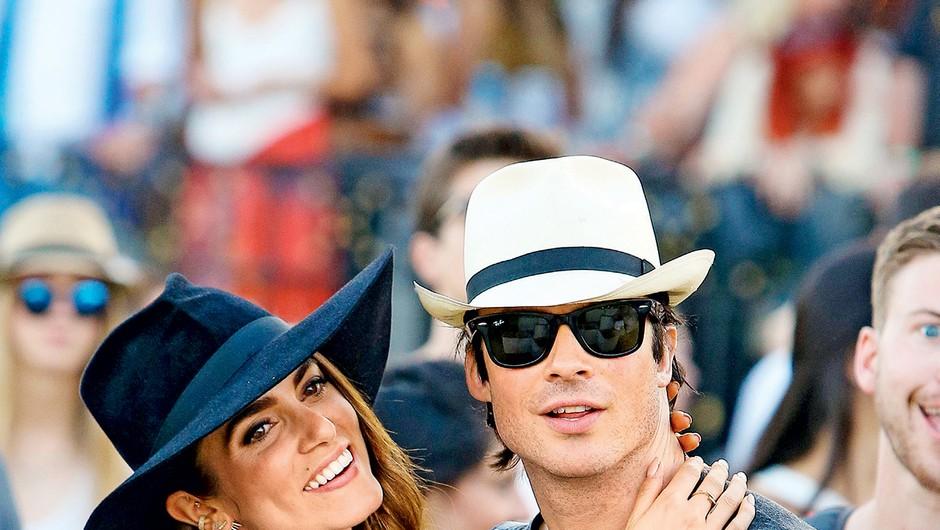 Na dan prišle podrobnosti s poroke Nikki in Iana (foto: Profimedia)