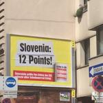 Slovenija, 12 točk! (foto: Facebook)