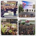 10-tisočglava množica je Mansa pričakala ob vrnitvi v domači kraj  (foto: Facebook)