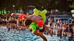 Prvo julijsko soboto pridi na veliko zabavo ob bazenu