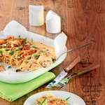 Gratinirane palačinke s špinačo in smetano. Za vse ljubiteljice slanih palačink. RECEPT: http://www.lisa.si/recepti/gratinirane-palacinke-s-spinaco-in-smetano/ (foto: Lisa)