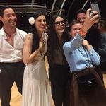 Demi Moore ob hčerkah Tallulah in Rumer, ki je nedavno zmagala v televizijskem šovu Zvezde plešejo.  (foto: Profimedia)