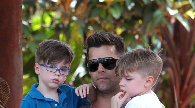 Ricky Martin sinovoma napisal ganljivo pismo (foto: Profimedia)