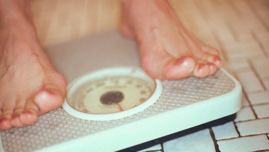 Tehtnica ni pravo merilo napredka pri hujšanju in vadbi. Kak je? (foto: Profimedia)