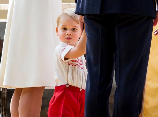 Princ George bo 22. julija praznoval 2 leti.