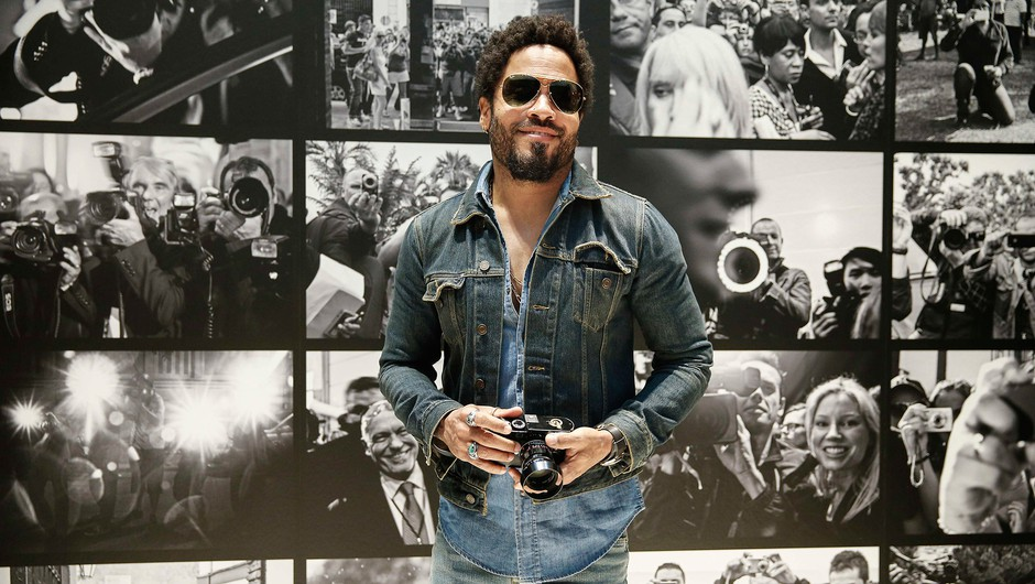 Lenny Kravitz vabi na fotografsko razstavo na Dunaj (foto: Leica Galerie Wetzlar)