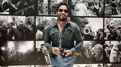 Lenny Kravitz vabi na fotografsko razstavo na Dunaj