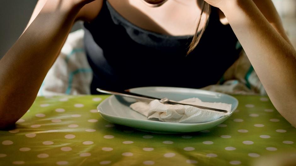"""""""Življenje z anoreksijo ni življenje, ampak trpljenje"""" (foto: Getty Images)"""