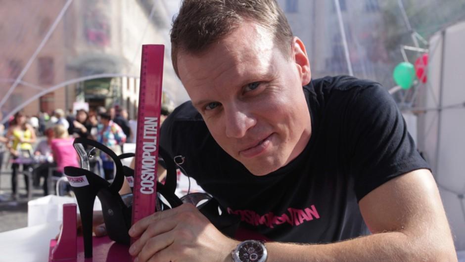 Spoznaj Slovenca, ki ima enkrat na leto izjemno zabavno službo (foto: Cosmopolitan)