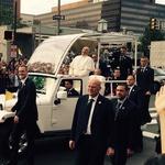 Papež je ob pogledu nanjo prasnil v smeh (foto: Dana Chancler Madden Facebook)