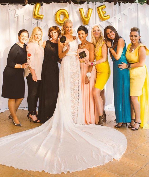 Tjaša Kokalj je končno pokazala poročno obleko! (foto: osebni arhiv)