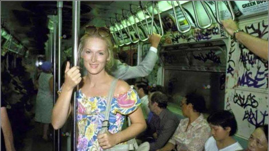 Za to fotografijo Meryl Streep se skriva ganljiva zgodba (foto: Profimedia)