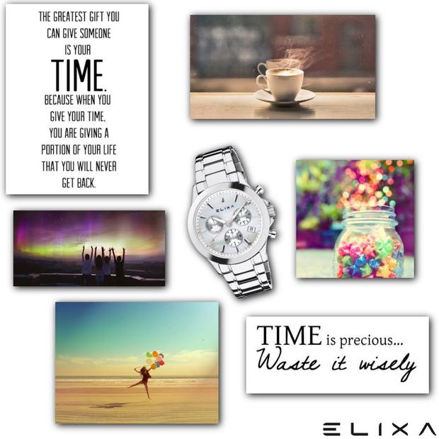"""11 vaših najboljših """"moodboardov"""" z urami Elixa"""