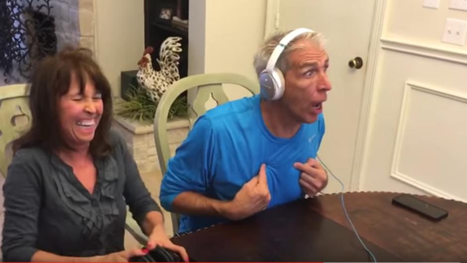 VIDEO: Reakcija bodočega dedka ob veseli novici navdušuje splet (foto: Youtube)