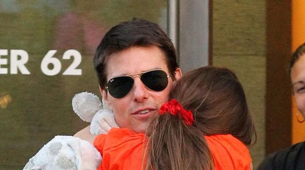 Zakaj Tom Cruise že dve leti ni videl svoje hčerke? (foto: Profimedia)