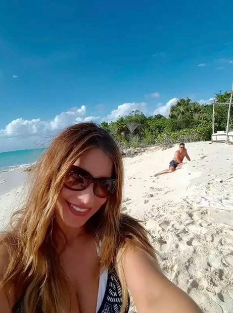 FOTO: Sofia Vergara in Joe Manganiello imata rajske medene tedne