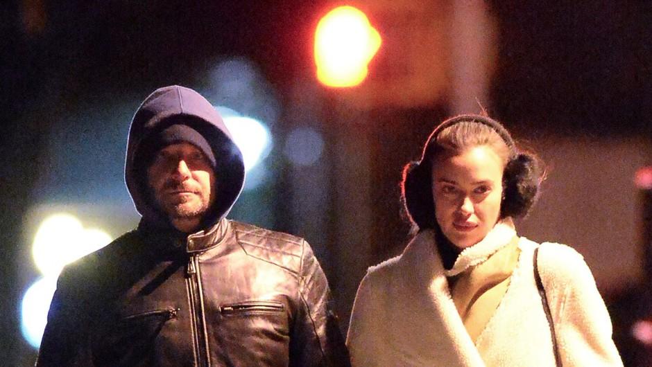Raziskali smo, kje se skrivata Bradley Cooper in Irina Shayk! (foto: Profimedia)