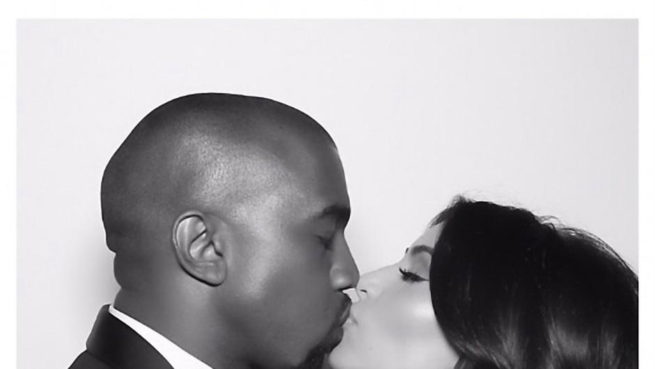 Sinček Kim Kardashian in Kanye Westa dobil ime in podobo v prihodnosti (foto: Profimedia)
