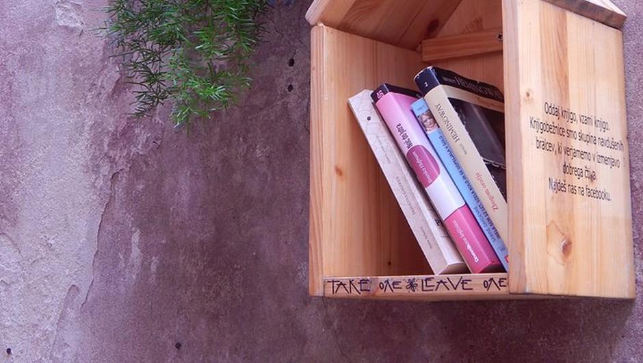 Že ta vikend: izmenjevalnica knjig in modnih dodatkov (foto: facebook.com/groups/knjigobeznice)