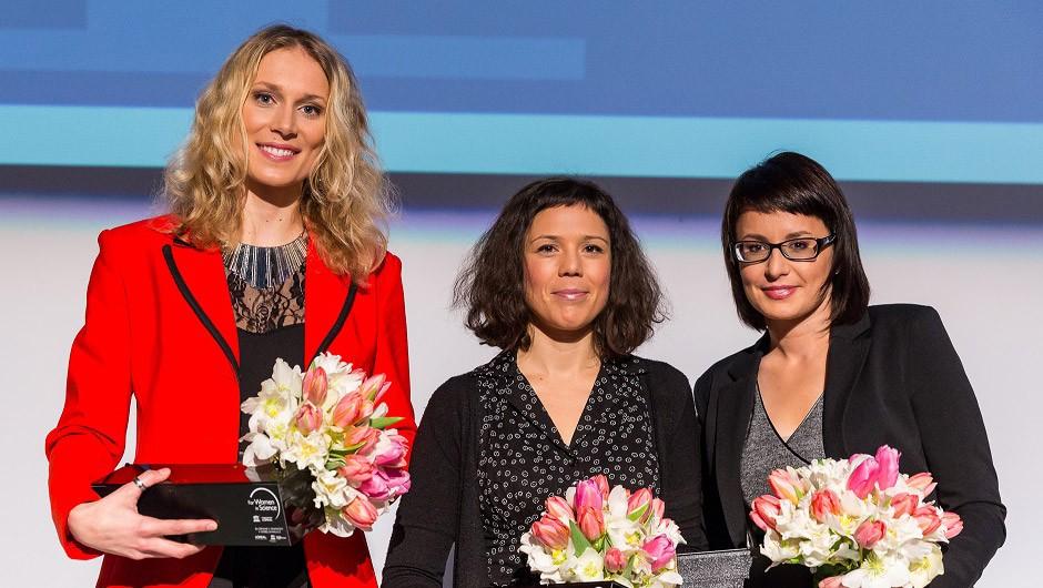 Znane štipendistke programa Za ženske v znanosti 2016 (foto: promocijsko gradivo organizatorja)