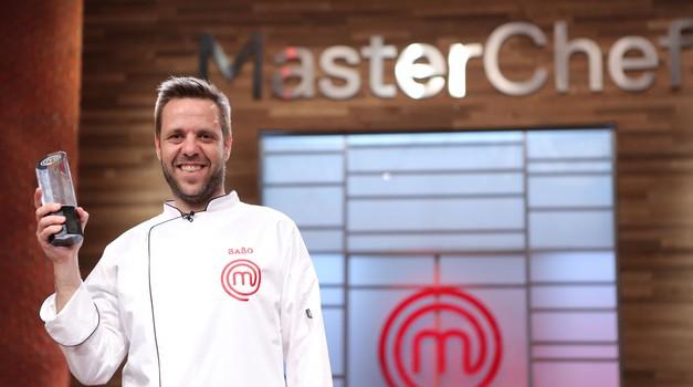 Na fotografiji: Sašo Miljuševič, zmagovalec 1. sezone MasterChef Slovenija (foto: POP TV)