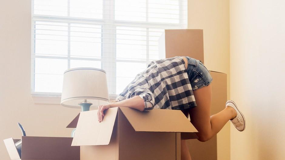 Kaj se zgodi, ko svoj dom zamenjaš za nekdanjo otroško sobo svojega fanta? (foto: Getty Images)