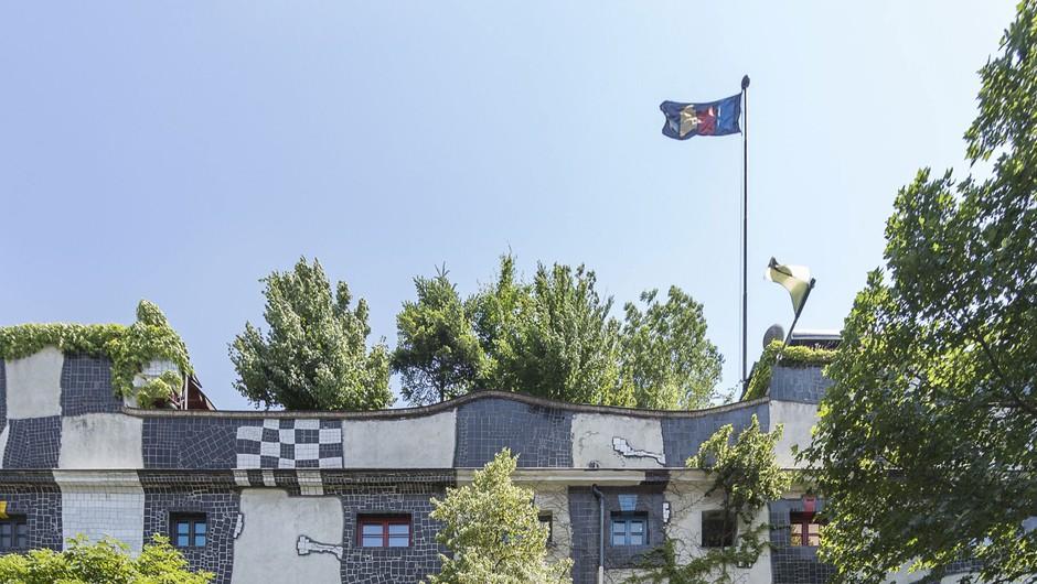 Hundertwasser, markanten muzej na Dunaju, praznuje 25 let (foto: Eva Kelety)
