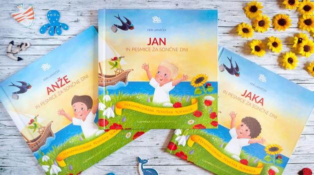 Zunaj prva personalizirana pesniška slikanica za otroke (foto: promocijsko gradivo)