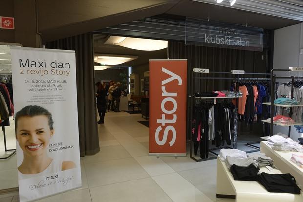 Blagovnica Maxi je eden najbolj priljubljenih nakupovalnih središč v Ljubljani, tokrat pa je k sodelovanju povabila še tednik Story.