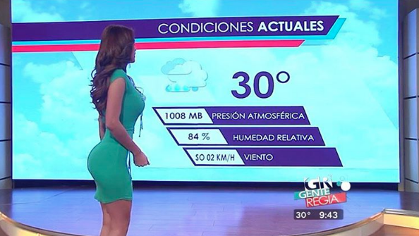 Yanet Garcia, napovedovalka vremena na eni izmed mehiških televizij, le malokoga pusti ravnodušnega. Ne le, da je izjemno lepa, ampak …