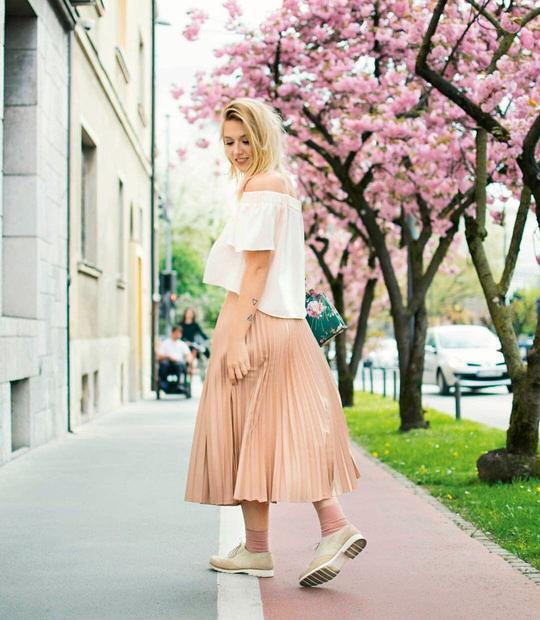 Kakšna zgodba stoji za imenom vašega bloga, torej The Blonde Bliss? Blonde je bila nekako osnova za celotno ime in …