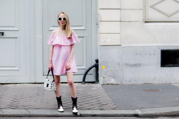 Moda/poletje 2016: Poglej, kaj smo opazili na pariških ulicah (FOTO)