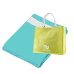 <h3>Mu Athentikos brisača in torba za na plažo</h3> <p>Brisača vedno prav pride, tudi na plaži. Lična torba pa poskrbi za transport v slogu, tako brisače kot ostalih potrebščin.<br>Brisačo in torbo podarja podjetje Ljubljanske Mlekarne. </p>