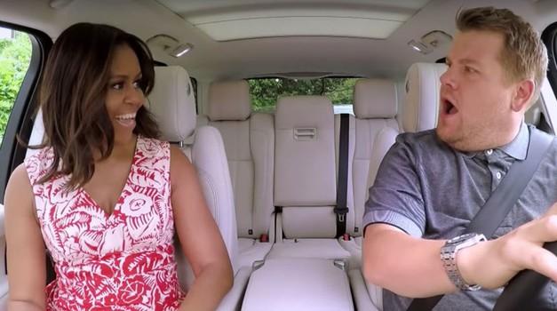 VIDEO: Najboljše Carpool karaoke vseh časov! Moraš videti, kako Michelle Obama poje ... (foto: You Tube)