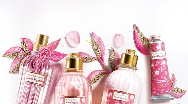 L'Occitane s ponosom predstavlja novo kolekcijo Rose Originelle – Izvorna vrtnica (foto: promocijsko gradivo)