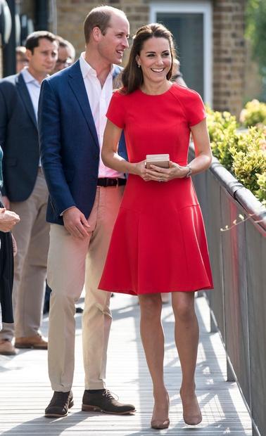 Kate Middleton na dobrodelnem obisku v Cambridgeu